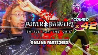 Cannot believe I hit that combo! : RJ Power Rangers Battle for the Grid Online Matches