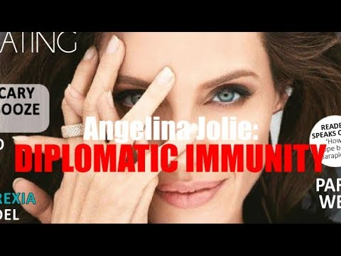 Angelina Jolie: DIPLOMATIC IMMUNITY / New World Order SUSTAINABLE DEVELOPMENT