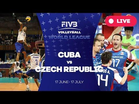 Cuba v Czech Republic - Group 2: 2016 FIVB Volleyball World League