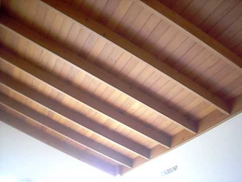 Techos de madera peru youtube for Cielos falsos modernos