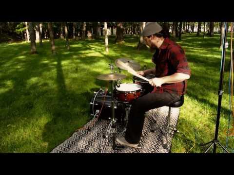 "Outside Drum Recording Test#1 ""Brandon's solo"""