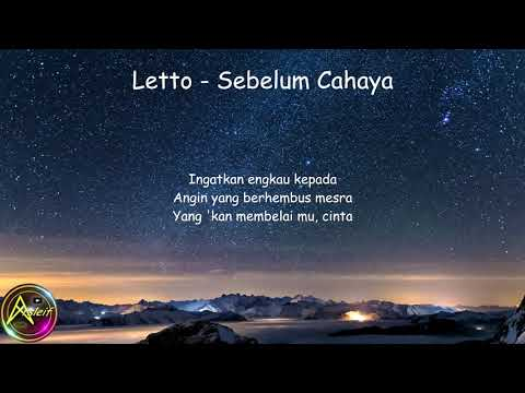 Letto - Sebelum Cahaya (Lyrics)