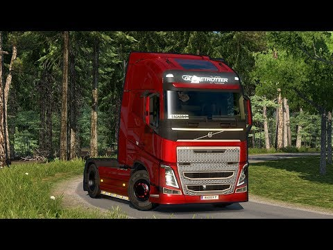 Euro Truck Simulator 2: Realistic Multiplayer Event Accident