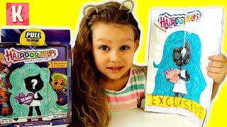 Подделка vs Самоделка. Что КРУЧЕ? Кукла Hairdorables из бумаги. Бумажные сюрпризы Kristina AdiGames