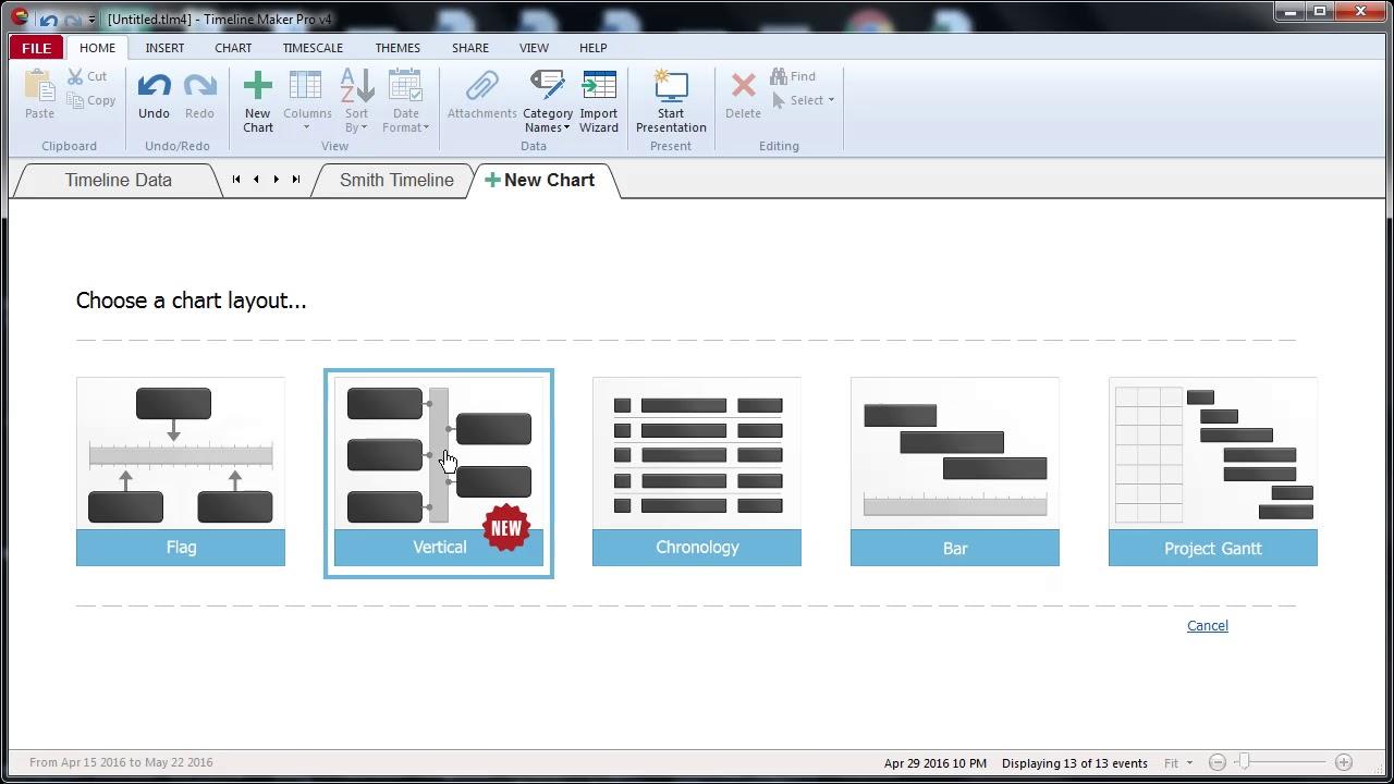 Timeline Maker Pro – Best Timeline Software for Business