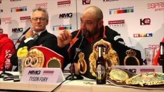 TYSON FURY - 'MY WHOLE FAMILY KNEW I WOULD BE WORLD CHAMPION AFTER JUST ONE AMATEUR FIGHT'