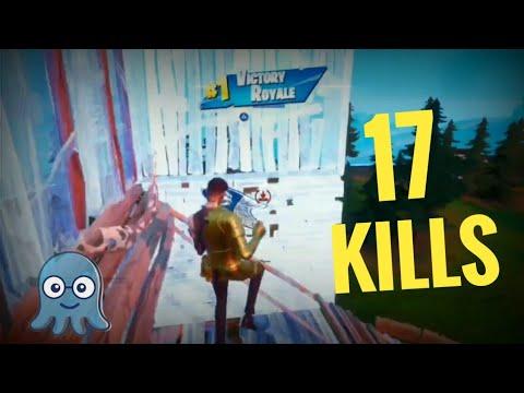 17 KILLS   SOLO VS SQUAD   MONTAGES   WON VICTORY ROYALE