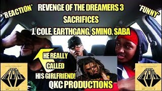 Dreamville - Sacrifices - Official Music Video - REACTION - He Called His GF!