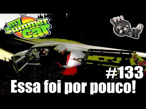 My Summer Car - A CARRETINHA SALVOU A VIDA DO MEU CARRO #133 ‹ Getaway Driver ›