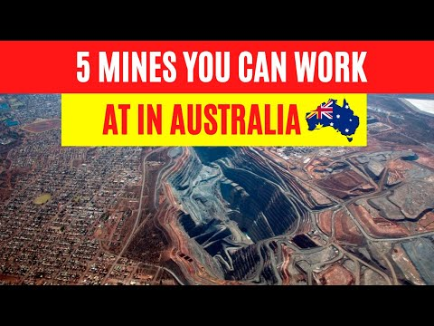 5 Mines You Can Work At In Australia