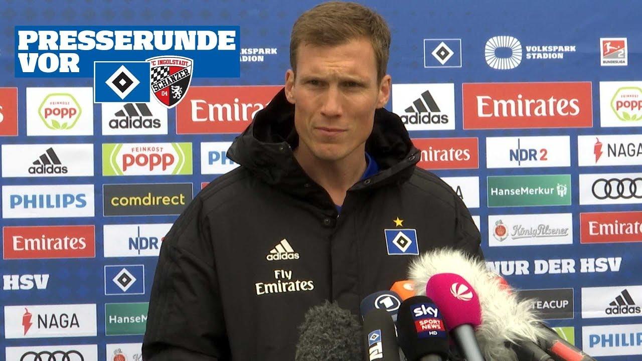 RELIVE: Die Presserunde vor dem Heimspiel gegen den FC Ingolstadt