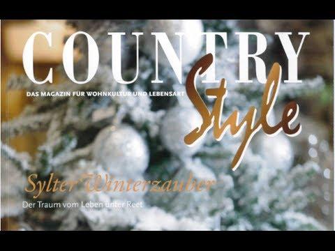 Country style 66 sylt winterzauber dekoration - Dekoration winterzauber ...