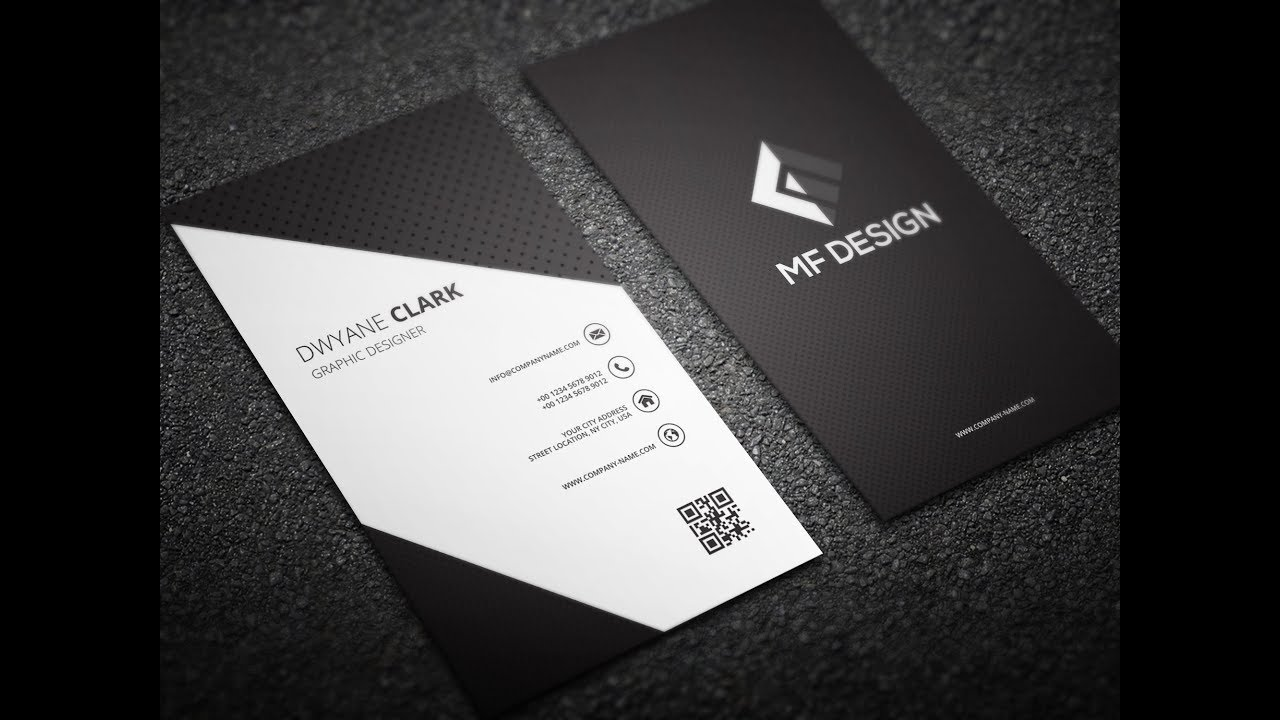 Modern business card design in illustrator cs6 illustrator bangla modern business card design in illustrator cs6 illustrator bangla tutorial reheart Image collections