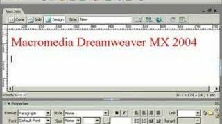 урок Dreamweaver видеоурок шестой 001 на русском языке