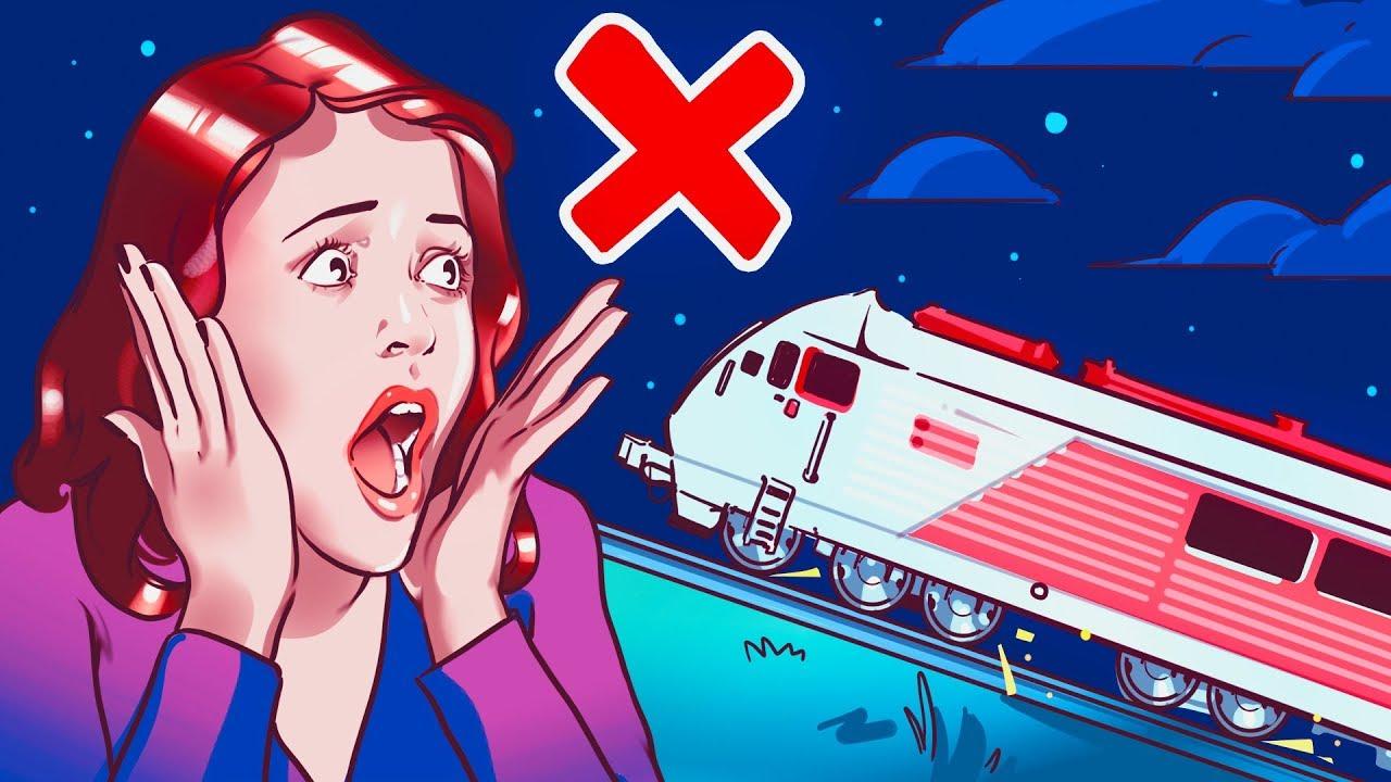 Por qué los trenes no pueden subir + vídeo