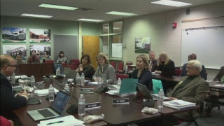 WJCC School Board Meeting from 12/12/17