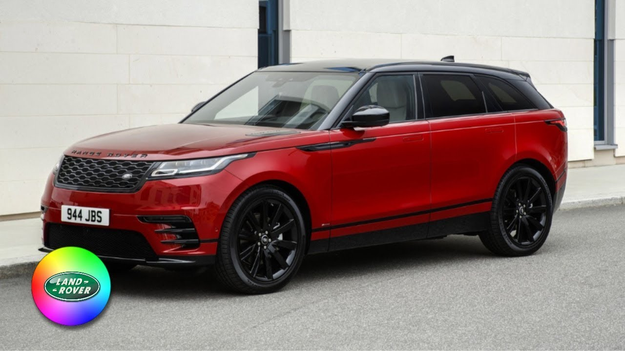 2018 Range Rover Velar Colors Youtube