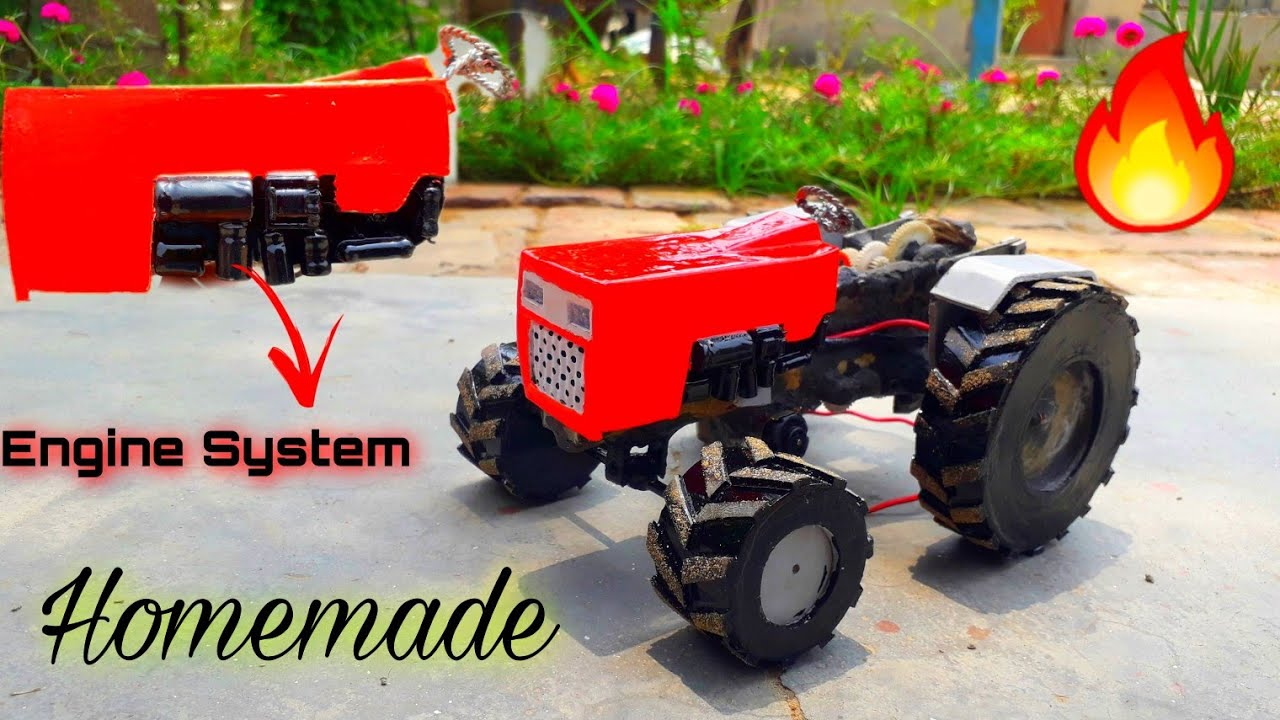 Download How to make Show for SWARAJ 855 toy tractor  Engine System special.. 