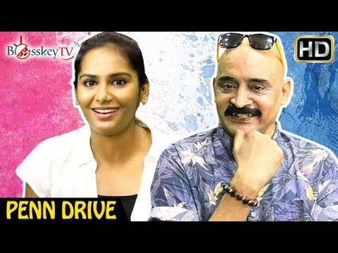 Am a director's actor says Actress Lakshmi Priyaa | An Exclusive Interview | Penn Drive | Bosskey TV