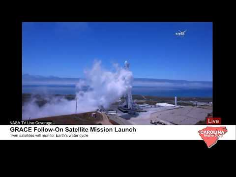 GRACE Follow-On Satellite Mission Launch Live Coverage