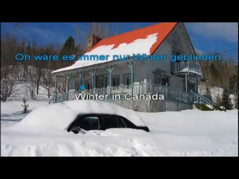 Winter in Kanada - Karaoke