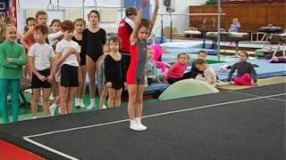 Первенство ДЮСШ по спортивной акробатике 3 юн разряд 2е упражнение (мальчики)