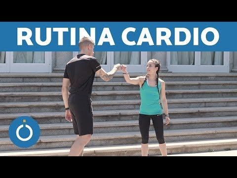RUTINA DE FITNESS EN PAREJA - 20 minutos de CARDIO thumbnail