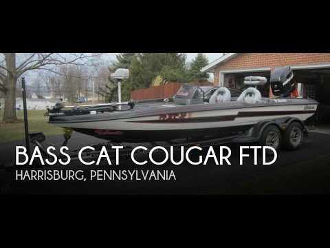 [UNAVAILABLE] Used 2008 Bass Cat Cougar FTD in Harrisburg, Pennsylvania
