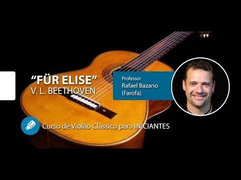 Für Elise - V. L. Beethoven - Violão Clássico para INICIANTES
