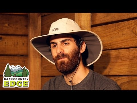 daa41c4366ebd5 Outdoor Research Sombriolet Sun Hat - YouTube