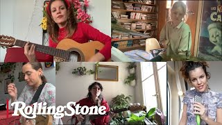 Hinds Perform New For You While Self-Isolating in Madrid | In My Room YouTube Videos