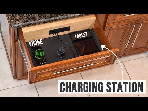 Turn any DRAWER into a Charging Station | Drawer organization