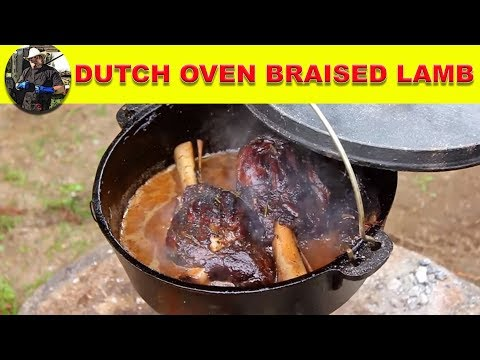 Black Iron Braised Lamb Shank