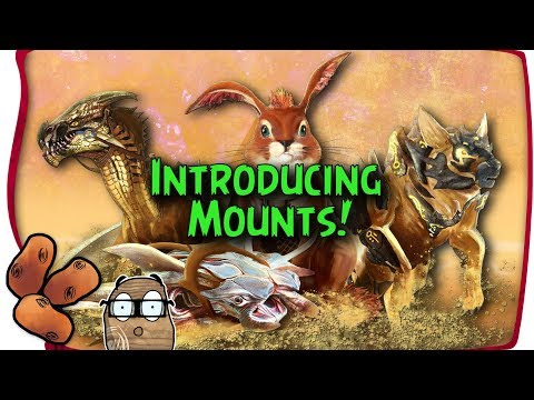 Guild Wars 2 Path of Fire - Introducing Mounts