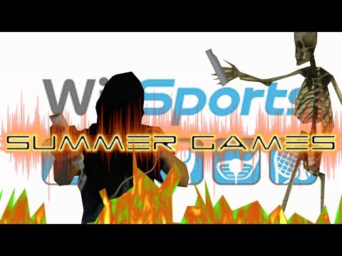Wii Sports Summer Games- Professor Shadow