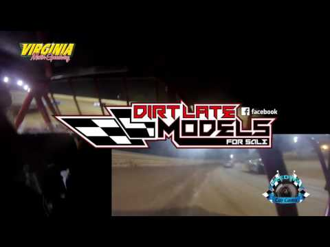 #30 Tyler Bare - Pro Late Model - 6-10-17 Virginia Motor Speedway - In-Car Camera