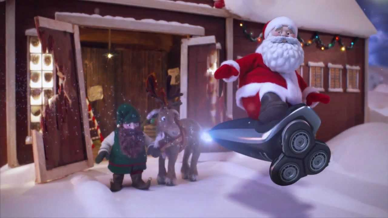 Philips Norelco | Santa Has a New Ride - YouTube