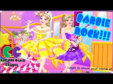 Barbie princesa y el Juegos de Vestir Popstar: el vestido de Barbie.