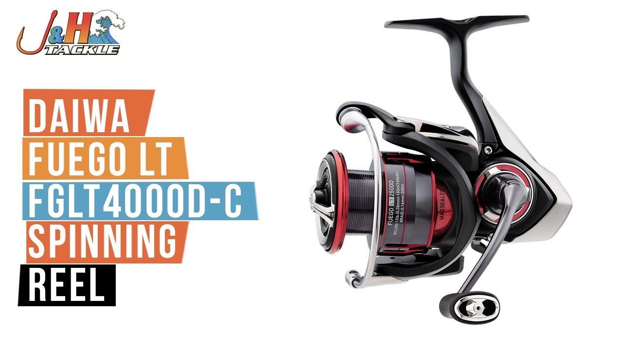 NEW Daiwa Fuego LT 4000D-C Spinning Fishing Reel FGLT4000D-C