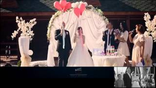Sergiy&Alina  04 10 2015  SDE монтаж свадебного клипа в день свадьбы