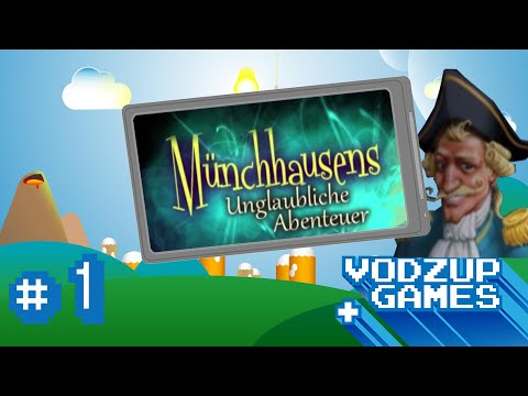 Münchhausens Abenteuer [#1] - Hier wimmelts - Vodzup Games App Review