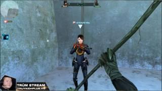 Trùm Stream Truy Kích Test damage MK Tyran lên Zombie Master