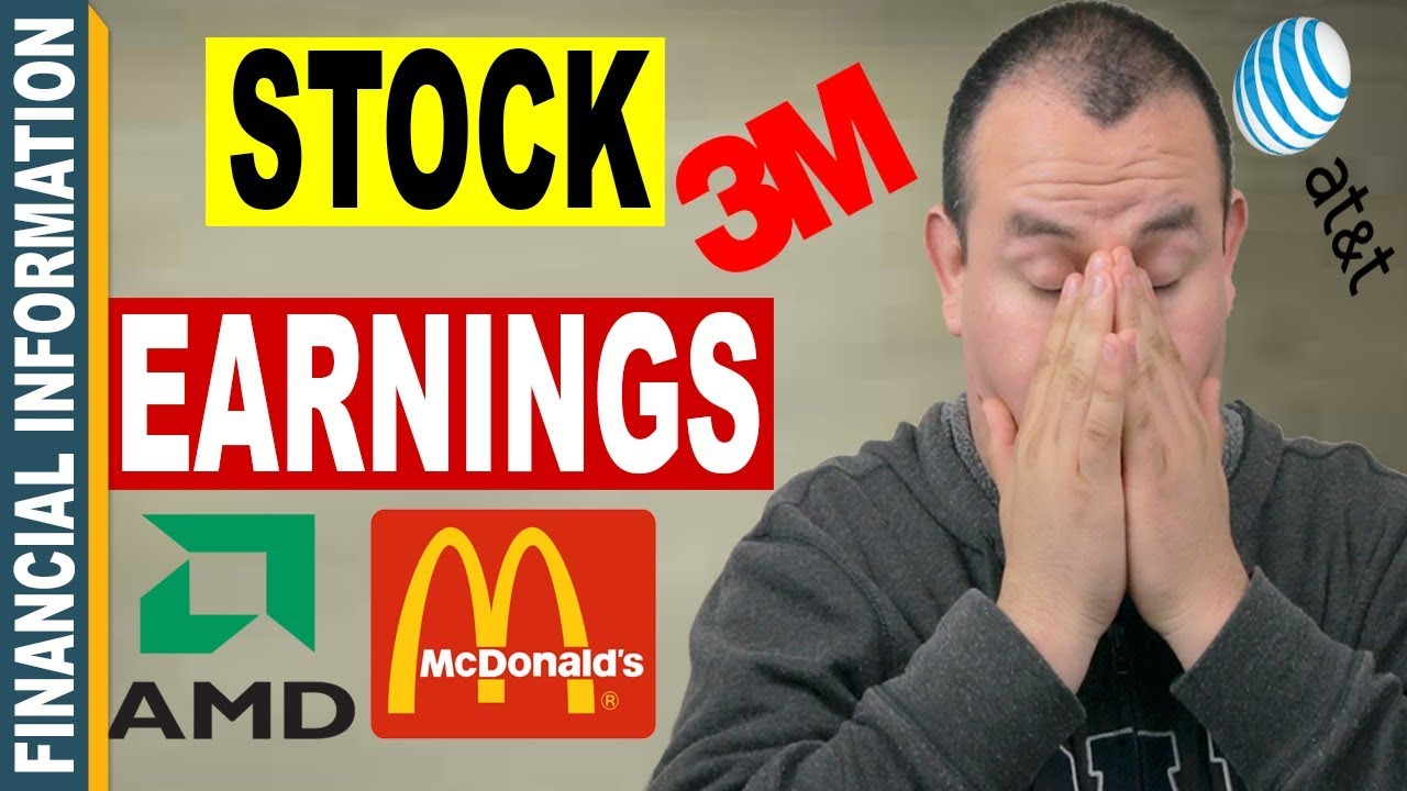 Stock Market Earnings Amd Chipotle Mexican Grill Hasbro Mcdonalds