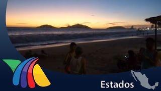 Mar de fondo afecta costa de Sinaloa | Noticias de Mazatlán