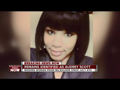 Missing Milwaukee woman Audrey Scott's remains found