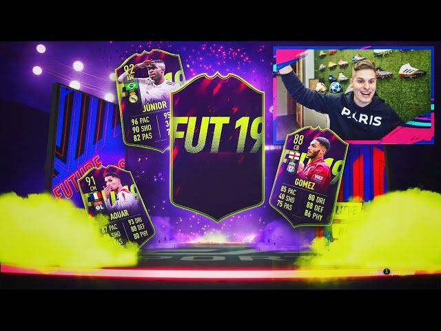ME TOCAN FUTURAS ESTRELLAS!! | JOE GOMEZ SBC Y MUCHOS CAMINANTES TOP!! | FIFA 19