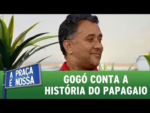 A Praça É Nossa (16/06/16) Paulinho Gogó conta história do papagaio