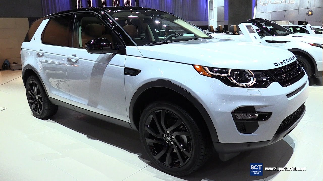 2017 land rover discovery sport hse luxury exterior interior walkaround 2016 la auto show. Black Bedroom Furniture Sets. Home Design Ideas