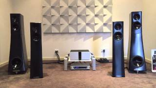 YG Acoustics Carmel 2 DigiBit Aria Music Server Vitus Audio RI-100 Siltech Absolute Hi End