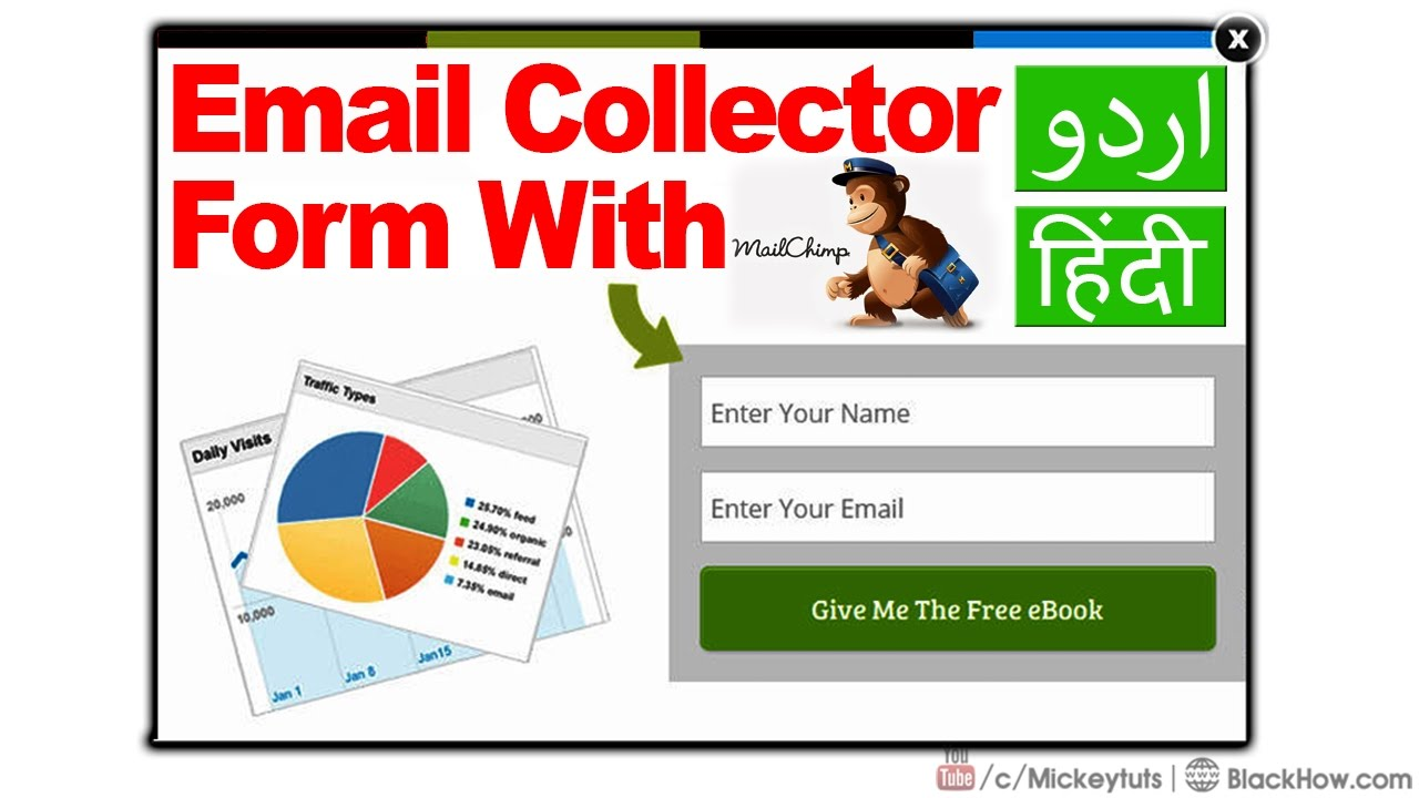 How to Design Email Collector Form With MailChimp | Urdu/Hindi ...